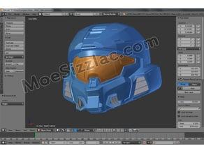 Halo Infinite - Mark VII - Helmet