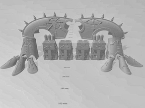 Chaos Bits for Updated Armorcast Wardog Titan