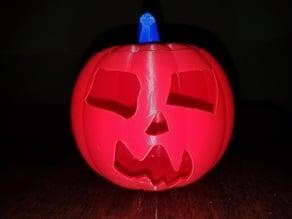 Jack-O'-Lantern Scary Face