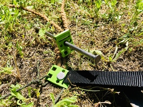 Chunky - the one for all tent peg | multifuntional, DIY, for hard grounds
