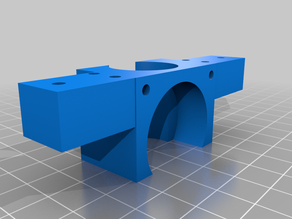 E3D V6 Mount for CTC Printer