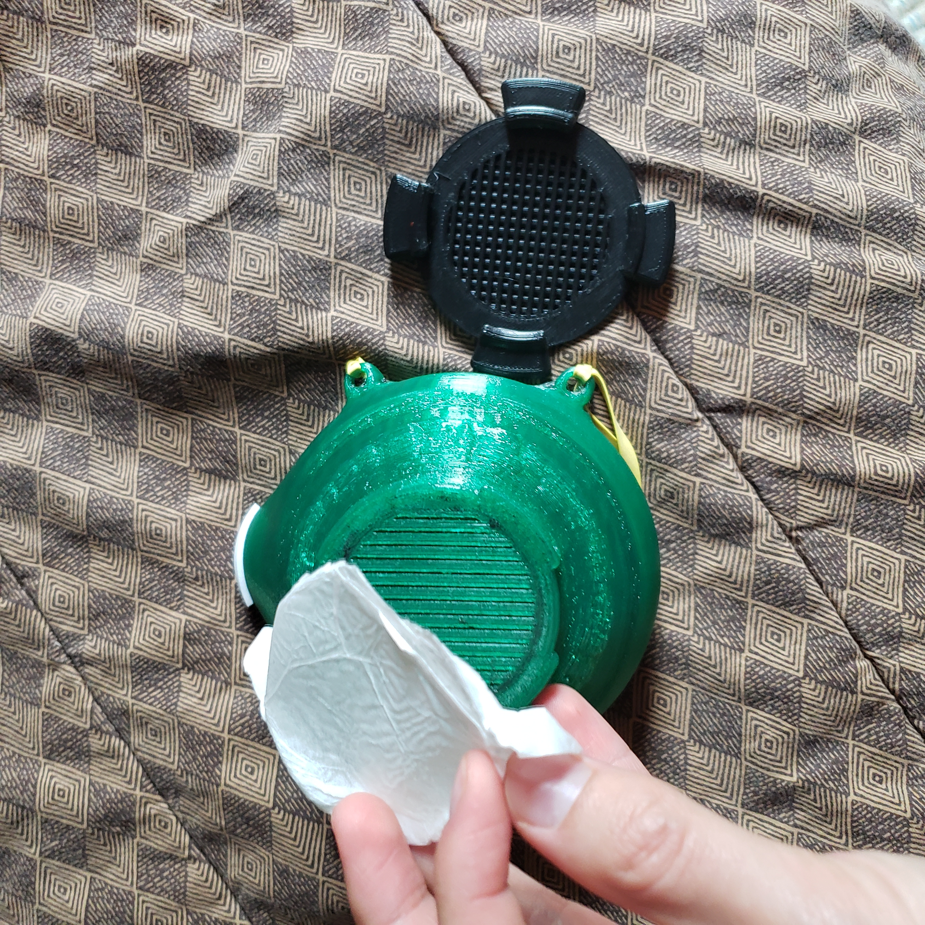 Flexible Respirator with Replaceable Coffee Filter(Covid-19)