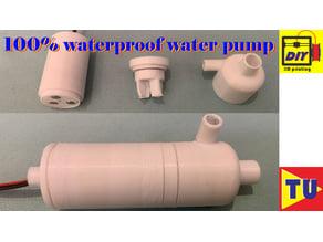100% Waterproof Water Pump
