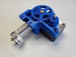 [Remix] Dasaki Compact 1:3 Geared Extruder for Prusa i3 (MK7 drive gear)