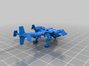 Igor -VTOL (Landed/Unloaded) - SmallRobotsInAContainer