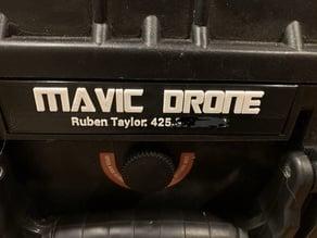 Apache Hardcase Name Plate
