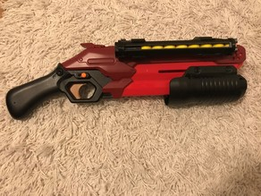 Nerf Takedown Speed Loaders and Mount