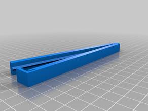 My Customized 125mm Parametric Bag Clip - PLA compatible