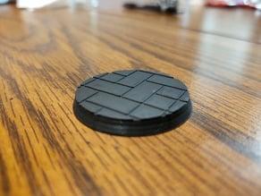 Tile Base For Miniature War Gaming