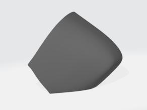 Protogen visor for Zillion's protogen head