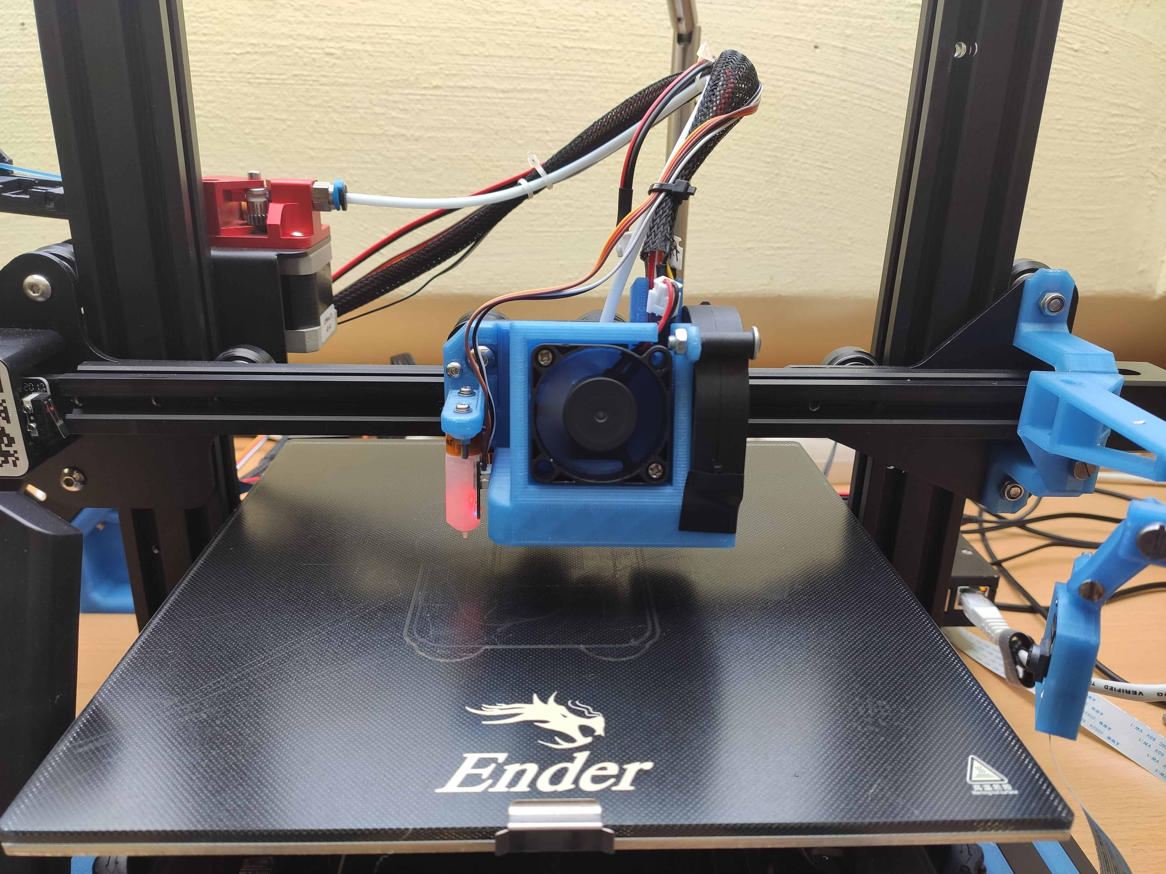 Satsana Remix for Ender 3V2 with BLTouch / 4010 and 5015 Fan versions