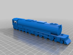 Big Boy Locomotive Simplified Model (Engine Only)