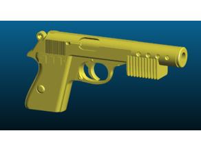 Star Wars inspired heavy blaster pistol BlasTech PK-184 - Kitbash