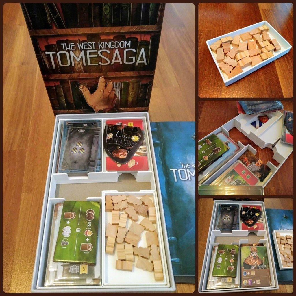 The West Kingdom Tomesaga Organizer