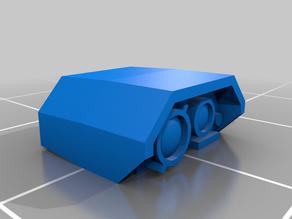 Vehicle weapon optics