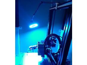 Ender 3 NeoPixel Ring Light