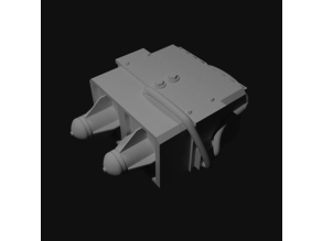 Rocket Launcher scaled for 28mm tabletop and/or Gaslands