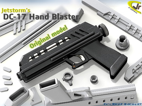 DC-17 Hand Blaster (Original Movie Realistic)