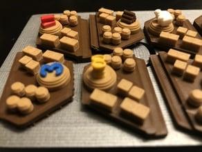 Catan Harbor Pieces - Single Nozzle, Multi-color Layers