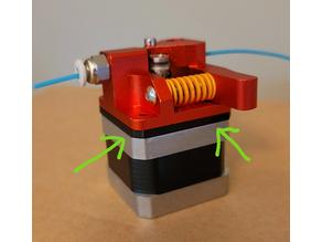 Extruder Motor Spacer for 3DFused Direct Drive mount