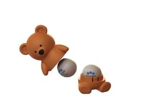 Teddy bear tabletennis ball storage