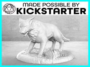 Dog - Action Pose - Tabletop Miniature