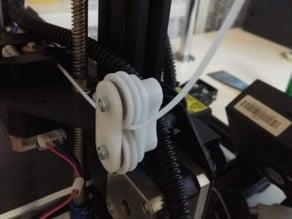 Filament double roller guide Tronxy XY-2