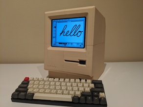 Full-Sized Macintosh Style Retro Computer (Europa)