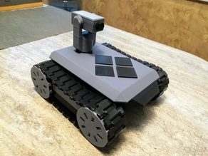 CyberTank FPV turret