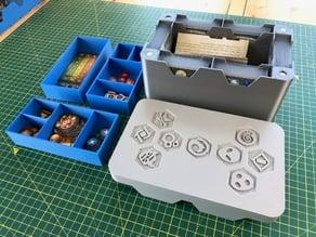 Keyforge Box (6 Decks + Tokens)