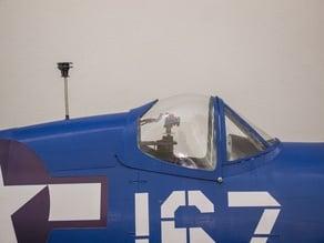 Cam VTX holder F4U Corsair 3dlabprint