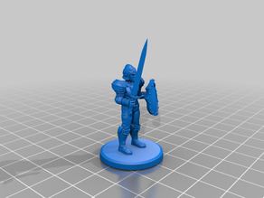 Armed Guard (DTH Beta Character - See Description!)