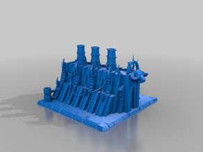 daemon forge - chaos - terrain