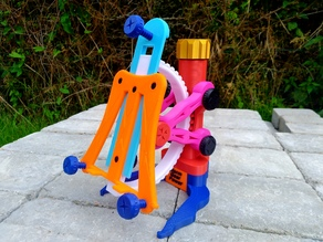 Adjustable Worm gear Tablet Stand