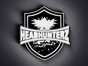 Headhunterz Shield Emblem