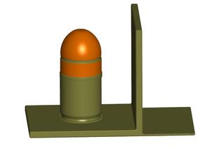 40MM Grenade Bookends w/ Secret Stash