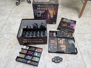 Mansions of Madness 2e Complete Base Game Organizer