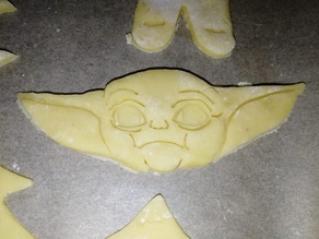 Baby Yoda Cookie Cutter