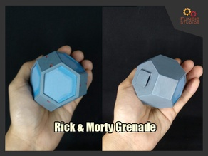 Rick and Morty Grenade