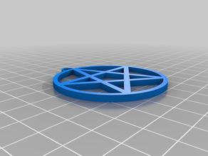 5cm Pentagram Pendant
