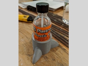 Plastruct glue bottle holder