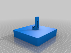 Lithophane Cube Base with lighting / power