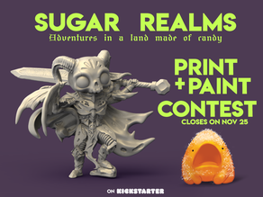 Sugar Realms - Print and Paint Contest