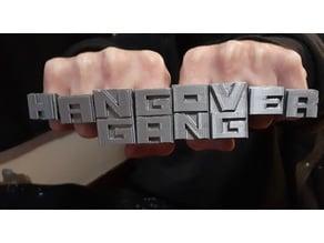 HANGOVERGANG  Rings
