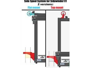 Side Spool System for Sidewinder X1 by Atoban