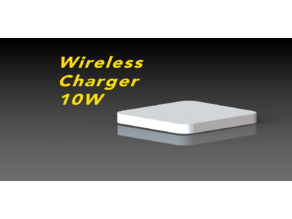Wireless Charger 10W - Ultra Thin - Iphone 11 pro, 11, X etc