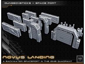 DungeonSticks: Space Port