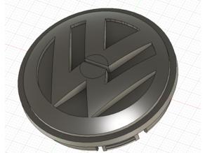 VW Jetta Wheel Cover Cap (55.7mm OD)