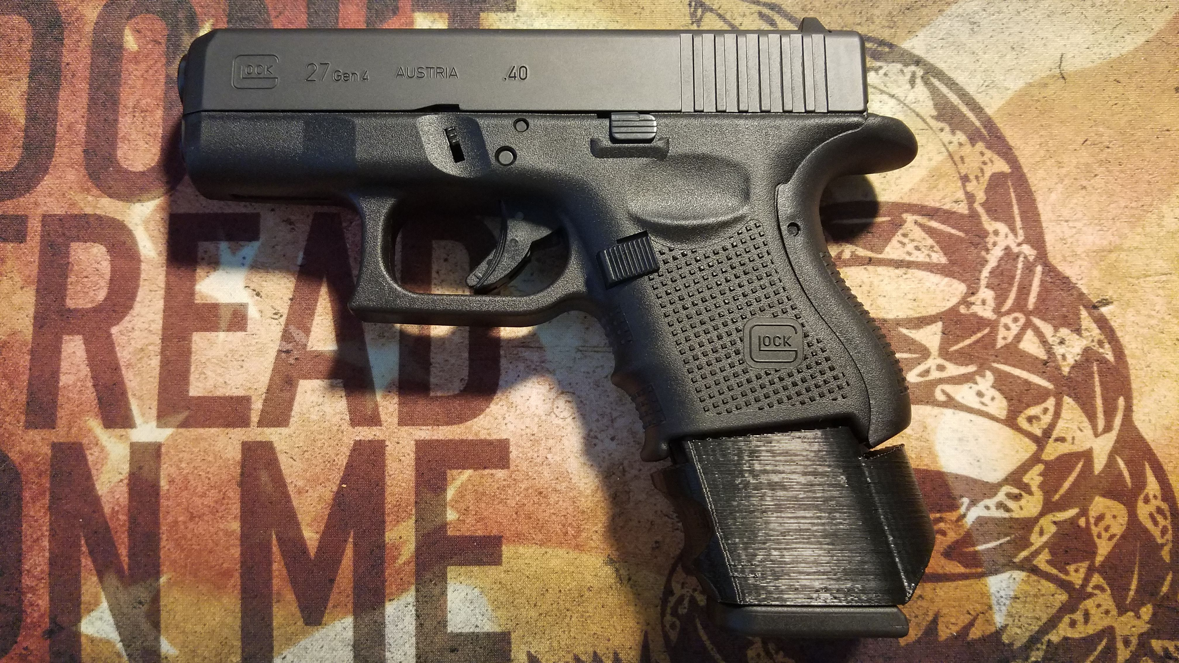 Glock 22 Magazine Sleeve for Glock 27 Compact