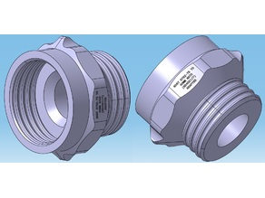 NATO to GOST & GOST to NATO (RD40x1/7-KR40H4) Adapter Set